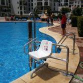 Grua de piscina CP Algeciras