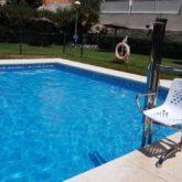 Grua de piscina CP Málaga
