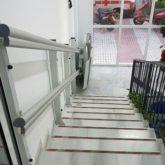 Plataforma Salvaescaleras Cruz Roja de Marbella