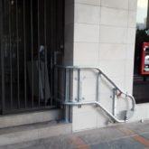 Salvaescaleras Banco Cajasur en Fuengirola