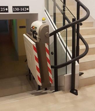 Salvaescaleras en Hoteles